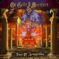 [Of Gods and Monsters Sons of Armageddon Album Cover]