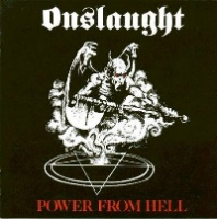 [Onslaught Power From Hell Album Cover]