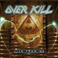 Overkill Live From OZ Album Cover