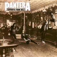 [Pantera Cowboys From Hell Album Cover]