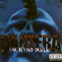 [Pantera Far Beyond Driven Album Cover]