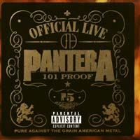 [Pantera Official Live 101 Proof Album Cover]