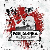 [Paul  Di'anno Hell Over Waltrop - Live in Germany Album Cover]