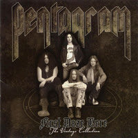 Pentagram First Daze Here - The Vintage Collection Album Cover