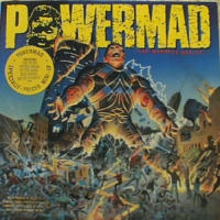 [Powermad The Madness Begins... Album Cover]
