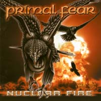 [Primal Fear Nuclear Fire Album Cover]