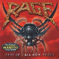 [Rage Best Of - All G.U.N. Years Album Cover]