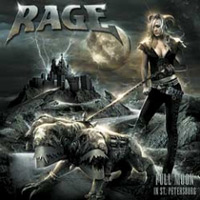 [Rage Full Moon In St. Petersburg Album Cover]