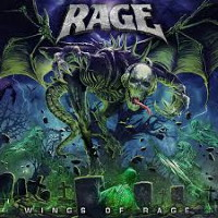 [Rage Wings of Rage Album Cover]