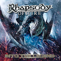 [Rhapsody Of Fire Into The Legend Album Cover]