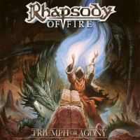 Rhapsody Of Fire Triumph And Agony Album Cover