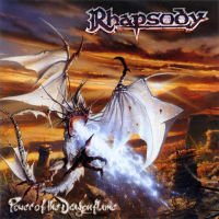 Rhapsody Power Of The Dargonflame Album Cover