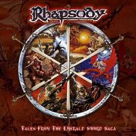 Rhapsody Tales From The Emerald Sword Saga Album Cover