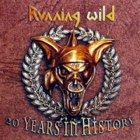 [Running Wild 20 Years in History Album Cover]