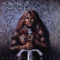 [Sacred Steel Reborn in Steel Album Cover]