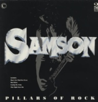 Samson Pillars of Rock Album Cover