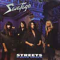 [Savatage Streets - A Rock Opera Album Cover]