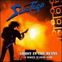 [Savatage Ghost In The Ruins - A Tribute To Criss Oliva Album Cover]