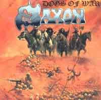[Saxon Dogs of War Album Cover]