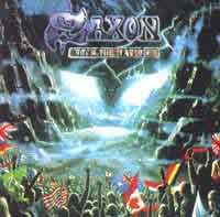 [Saxon Rock the Nations Album Cover]