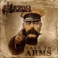 Saxon Call To Arms Album Cover