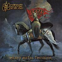 [Saxon Heavy Metal Thunder Album Cover]