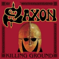 [Saxon Killing Ground Album Cover]