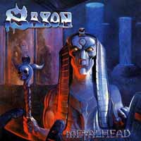 [Saxon Metalhead Album Cover]