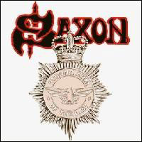 [Saxon Strong Arm of the Law Album Cover]
