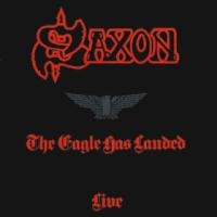 [Saxon The Eagle Has Landed Live Album Cover]