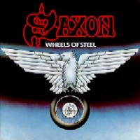 [Saxon Wheels of Steel Album Cover]