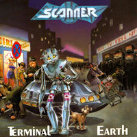 [Scanner Terminal Earth Album Cover]