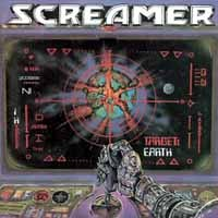 [Screamer Target Earth Album Cover]