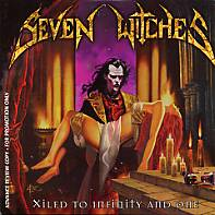 [Seven Witches Xiled to Infinity and One Album Cover]