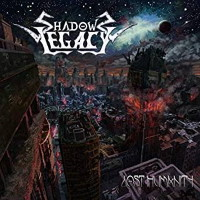 Shadows Legacy Lost Humanity Album Cover