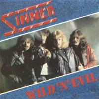 Sinner Wild 'N' Evil Album Cover