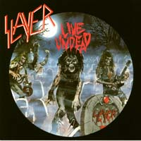 [Slayer Live Undead Album Cover]