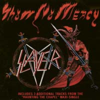[Slayer Show No Mercy Album Cover]