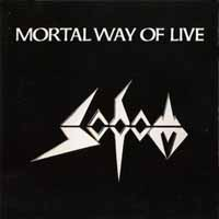 [Sodom Mortal Way Of Live Album Cover]