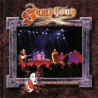[Symphony X Live on the Edge of Forever Album Cover]