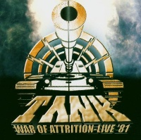 Tank War of Attrition - Live '81 Album Cover