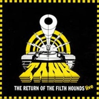 [Tank The Return of the Filth Hounds - Live Album Cover]