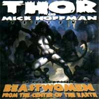 [Thor and Mick Hoffman Beastwomen From the Centre of the Earth Album Cover]