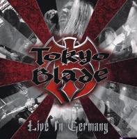 [Tokyo Blade Live in Germany Album Cover]