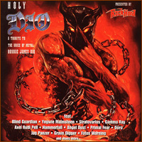 [Tributes Holy Dio: A Tribute To The Voice Of Metal - Ronnie James Dio Album Cover]