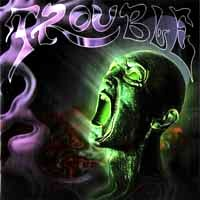 Trouble Plastic Green Head Album Cover
