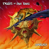 [Tygers Of Pan Tang Ambush Album Cover]