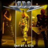 [UDO Best Of and Live Album Cover]