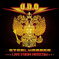 [UDO Steel Hammer - Live From Moscow Album Cover]