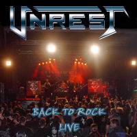 [Unrest Back To Rock Live Album Cover]